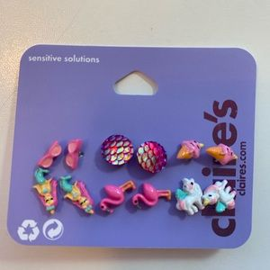 CLAIRES BEACH EARRINGS SET